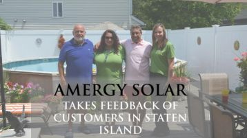 Amergy Solar Takes Feedback of Customers in Staten Island