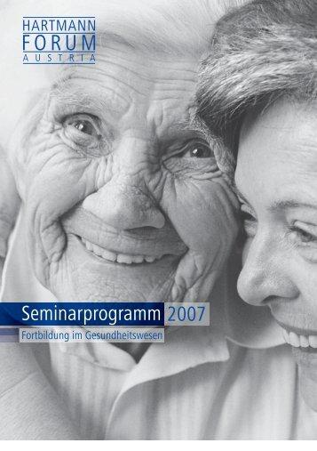 Seminarprogramm 2007 - AWA