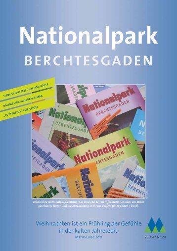 Nationalparkzeitung Nr. 20 - Nationalpark Berchtesgaden - Bayern