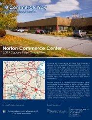 10 Commerce Way Norton Commerce Center