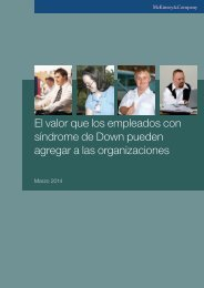 The value that employees with Down syndrome can add to organizations_ESP