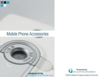 Page 1 Mobile Phone Accessories )` Powered by Page 2 Weil' Sie ...