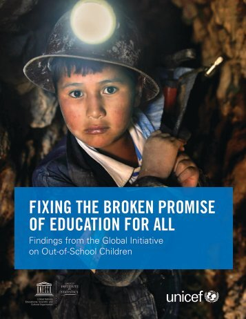 OF EDUCATION FOR ALL