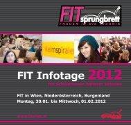 FIT 2012 - Der Studienchecker
