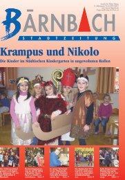 Krampus und Nikolo - Bärnbach