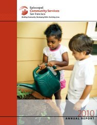 2010 Annual Report - Episcopal Community Services