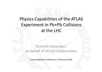 Physics Capabilities of the ATLAS Experiment in Pb+Pb Collisions at the LHC