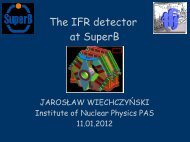 The IFR detector at SuperB