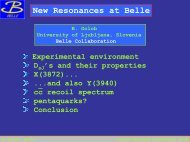 New Resonances at Belle - Epiphany 2014 Conference
