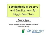 Semileptonic B Decays and Implications for Higgs Searches