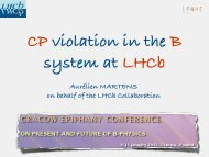 CP violation in the B system at LHCb