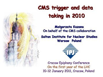 CMS trigger and data taking in 2010