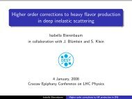 Higher order corrections to heavy flavor production in deep inelastic scattering