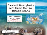 with taus in the final states in ATLAS