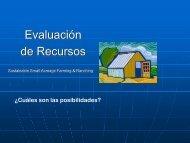 Evaluación de Recursos
