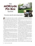 mor/ryde® pin box system mor/ryde® pin box system - Page 2