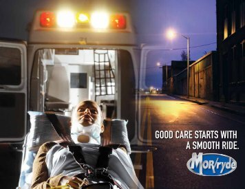 Good care starts with a smooth ride