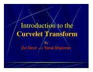 Introduction to the Curvelet Transform