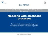 Modeling with stochastic processes