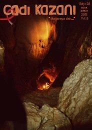 Sayı 28 Mağaraya dair 2013 Yıl 5