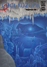 Sayı 27 Mağaraya dair 2012 Yıl 5