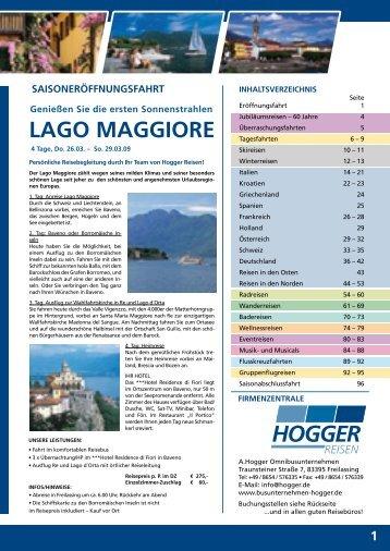 LaGO MaGGIORE - Hogger