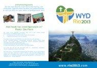 Wat houdt het vrijwilligerswerk in? Plaats Sao Paulo