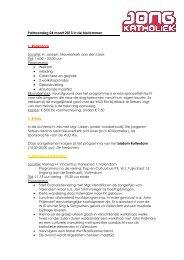 Invulling Palmzondag 24 maart 2013 in de ... - Jong Katholiek