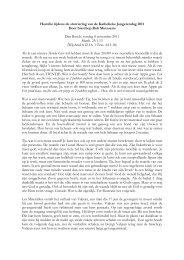 Download de hele preek - Jong Katholiek