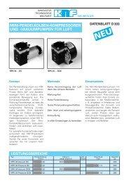H Datenblatt D 303 003 - KNF Neuberger