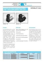 H Datenblatt D 305 005 - KNF Neuberger