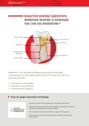 YOU CAN USE BIODENTINE
