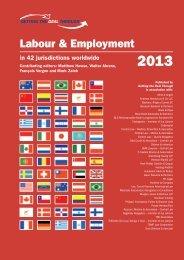 Labour & Employment - BLS Rechtsanwälte