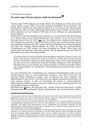 """Krystian Lupas Theater und das """"Ende der Romantik"""""""