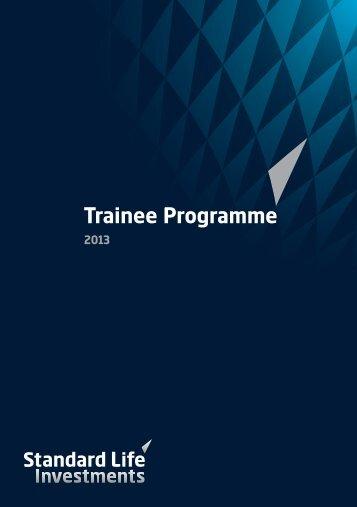 Trainee Programme
