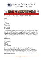 Die Rezepte können Sie in der PDF - Netzwerk Rommerskirchen