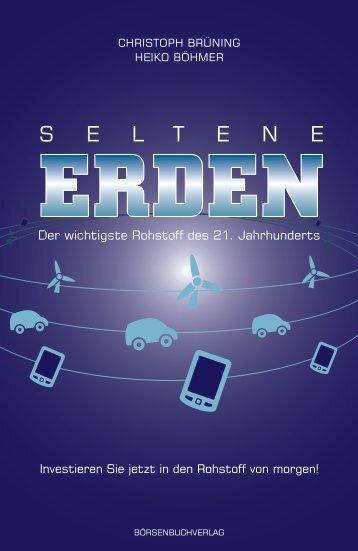 """Leseprobe """"Seltene Erden"""" - Quadriga Communication GmbH"""