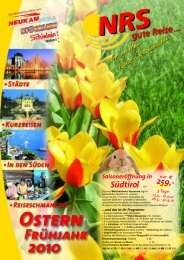 Ostern in Südtirol - NRS gute Reise