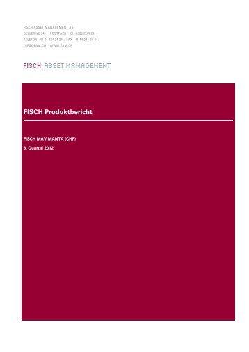 FISCH Produktbericht