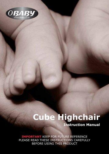 Cube Highchair