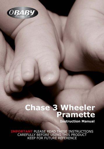 Chase 3 Wheeler Pramette