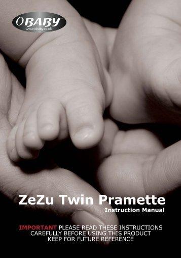ZeZu Twin Pramette