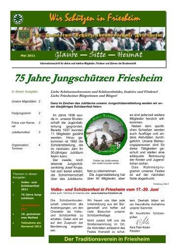75 Jahre Jungschützen Friesheim - St. Hubertus ...