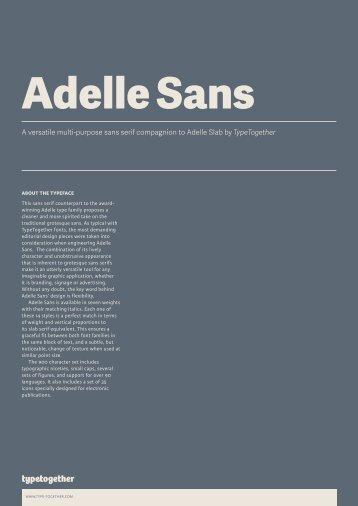 Adelle Sans