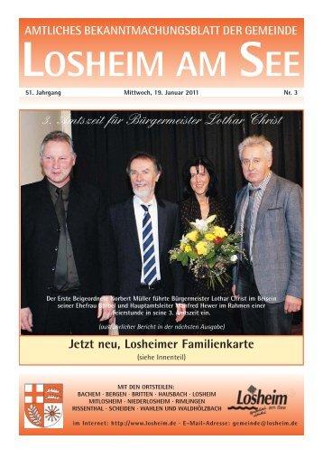 i Die Tourist-Info - Gemeinde Losheim am See