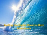 Surfing the Digital Wave to More Attendance