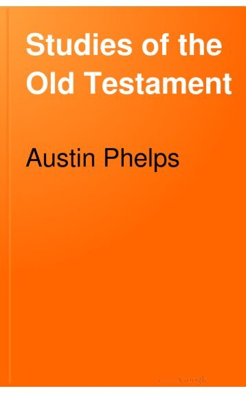 Studies of the Old Testament - Salt Lake Bible College