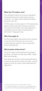 LendIng PrIncIPLes FOr LArger BUsInesses - Page 2