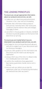 LendIng PrIncIPLes FOr LArger BUsInesses - Page 4