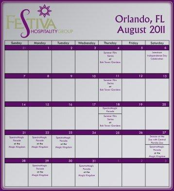 August 2011 Orlando FL